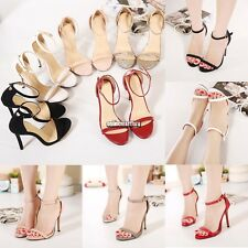 Sexy Women Party wedding shoes Open Toe Stiletto High Heels Shoes Sandals
