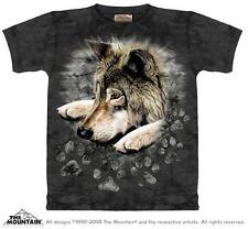 WOLF IN DYE PAWS CHILD T-SHIRT THE MOUNTAIN