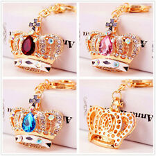 Bling Bling crystal sparkly imperial crown charm Car Purse Key chain key ring