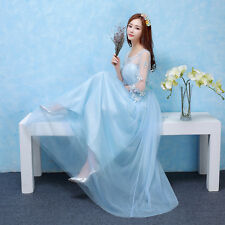 New Long Chiffon Bridesmaid Formal Ball Gown Party Cocktail Evening Prom Wedding