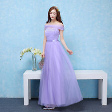 Women Wedding Bridesmaid Long Evening Party Ball Prom Gown Cocktail Dress