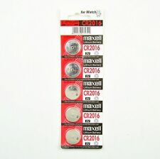 Maxell CR2032 CR2016 CR2025 Batteries Lithium 3V Cell Coin Button Battery