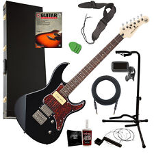 Yamaha Pacifica PAC311H Electric Guitar - Black COMPLETE GUITAR BUNDLE