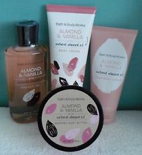 1 Bath & Body Works Almond & Vanilla With Natural Almond Oil - Your Choice