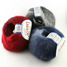50g Kid Mohair Wool PRETTY with great Colour gradient 49% Kid mohair 500m / 50g
