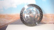 BRAKE ROTOR Right FR Disc 41808-08 Drilled For HARLEY Electra Ultra Road King X8