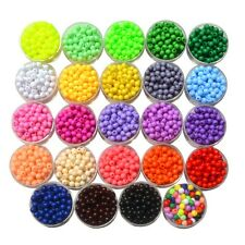 100/200/500Pcs New 6mm DIY Acrylic Round Pearl Spacer Loose Beads Jewelry Making