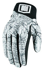 Icon Mens 1000 Collection Luckytime Mesh Street Riding Gloves