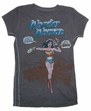 DC Comics Trunk LTD Wonder Woman I Quit Grey Girls Juniors T Shirt New Official