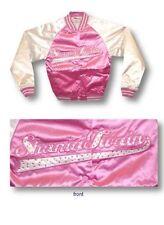 Shania Twain Up! Embroidered Tour Sequin Pink Jacket Womens Ladies New Official