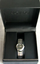 Movado Museum Classic Ladies and Mens Dress Watches w/Stainless Bracelet - NIB