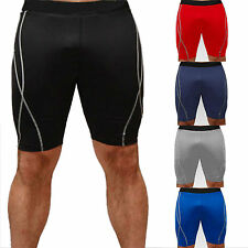 Men GYM Shorts Fitness Elastic Above Knee Short Trousers Pants Summer Jogging