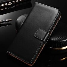 For LG L5 II 2 E460 Genuine Leather Card Holder Wallet Flip Stand Case Cove N