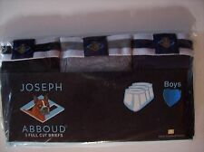 Joseph Abboud Underwear Underpants Boys 3 Full Cut Briefs Sz Small Medium Lg NIP