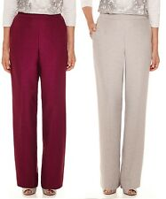 Alfred Dunner Womens Pants Veneto Valley Pull On Petites sizes 10P 12P NEW