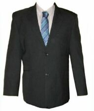MENS FORMAL SINGLE BREASTED TWIN NEEDLE STRIPE SUIT JACKET(CARTER),CHEST 36-64