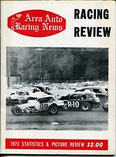 Area Auto Racing News 1973-pictorial format-USAC-Reutimann-Lancaster-VG/FN