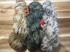 Feza Dali Designer Glitzy Yarn  3 colorways