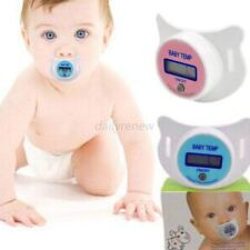 Safety Health LED Digital Pacifier Thermometer Nipple Temperature Baby Infant