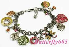 Brighton TRINIDAD Colorful Charm Retired Bracelet - NWOT