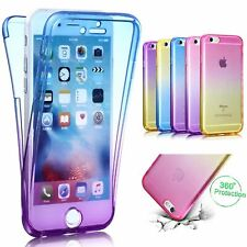 Full Pouch Protective Case Rainbow Cover TPU Bumper 360 Degree