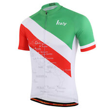Italy Team Cycling Jerseys MTB Bike Clothing Men's Cycling Jersey Shirts S-5XL