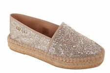 Guess Ladies Slip-on Shoes Slippers Sandals Gold #693