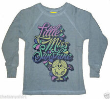 New Authentic Junk Food Little Miss Sunshine Thermal Girls Shirt