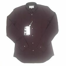 NWT $595 Maison Martin Margiela Men's Cabernet Red Button Down Shirt AUTHENTIC