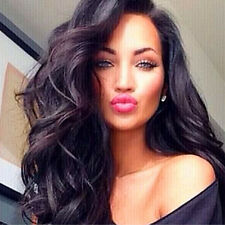 Fashion Gypsy Womens Long Curly Wavy Full Hair Cosplay Party Casual Daily Wigs