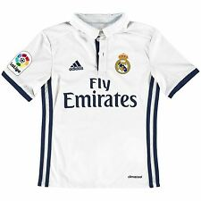 adidas Childrens Kids Football Soccer Real Madrid Home Shirt Jersey 2016-17