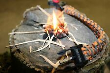 Core Survival Paracord Survival Bracelet - Hiking Multi Tool, Emergency Whistle