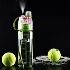 New Arrival Sports Spray Water Bottle Dual-use Bpa Free Plastic Bottles For Wate