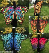 NEW Womens Silk Butterfly Shawl Scarves Long Wraps Beach Silk Scarf Cloak Gifts