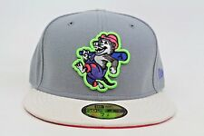 North Arkansas Travelers Gray Stone Green Infrared New Era 59Fifty Fitted Hat