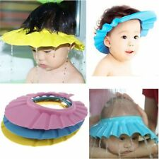 New Soft Baby Shower Cap Wash Hair Shield Bathing Hat A