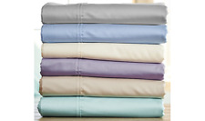 NORTHERN NIGHTS 600 Thread Count 100% Egyptian Cotton Sheet Set QVC $103
