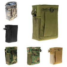 Tactical Drop Pouch Drawstring Military Reloader Small Molle Magazine DUMP Ammo