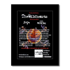 WILDHEARTS - UK Tour 2007 Mini Poster - 21x28.5cm
