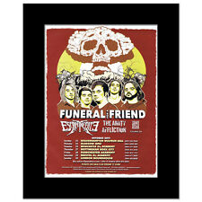 FUNERAL FOR A FRIEND - UK Tour 2011 Mini Poster