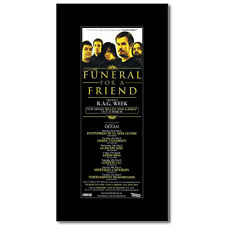FUNERAL FOR A FRIEND - UK Tour 2009 Mini Poster