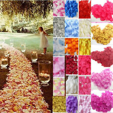 2017 Non-woven Rose Flower Petals  Wedding Party Table Confetti Decorations 144X