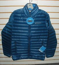 COLUMBIA MENS FLASH FORWARD 650 FILL POWER DOWN JACKET-WM5529-BLUE-S,M,L,XL,XXL