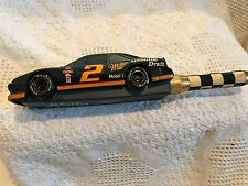 """Miller Genuine Draft Nascar #2 Rusty Wallace Old 12"""" Tap Handle Miller Brewing"""