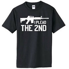 NRA I Plead the 2nd Amendment AR-15 Assault Rifle T-Shirt American Gun Rights