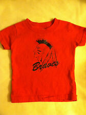 Infant Boy's Braves Red T-Shirt Short Sleeve 6 Months
