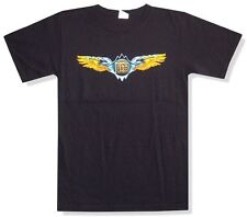 Doobie Brothers Wings Logo Tour 2010 Holmdel Black T Shirt New Official