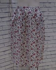 NEW FAT FACE INDIAN GARDEN FLORAL MIDI SKIRT 6 to 18