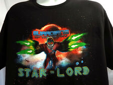 Star Lord T-Shirt Guardians of the Galaxy Marvel Comics Movie Men's Tee (LARGE )