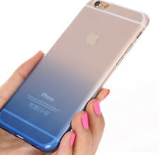 Transparent Case Gradient TPU Silicon Covers Shell Phone Cases For Apple iPhone